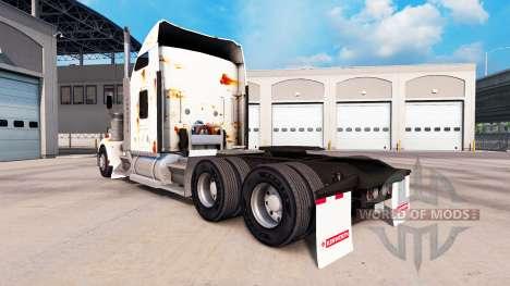 La piel Oxidado en el camión Kenworth W900 para American Truck Simulator