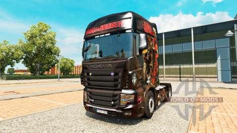 La piel de los Hijos de la Anarquía en el tracto para Euro Truck Simulator 2