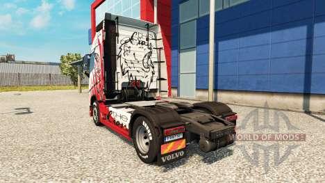 La piel del León de los camiones Volvo para Euro Truck Simulator 2