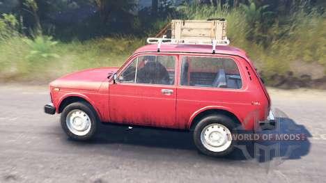 VAZ-2121 para Spin Tires