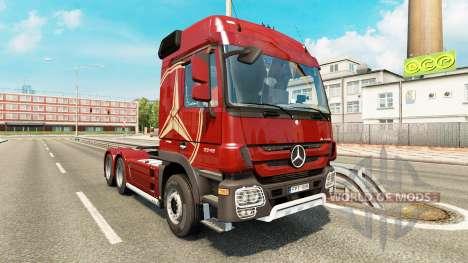 Mercedes-Benz Actros MP3 v2.0 para Euro Truck Simulator 2