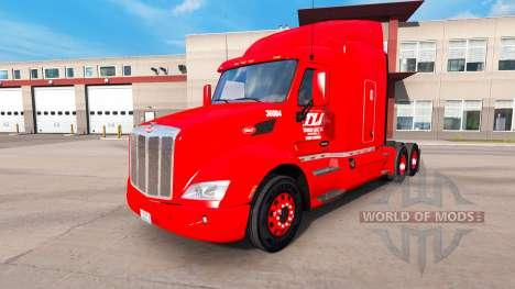 La piel Transco Líneas de camiones y Peterbilt K para American Truck Simulator
