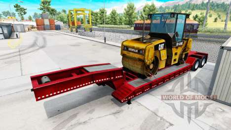 Semi-remolques con electrodomésticos de marcas f para American Truck Simulator