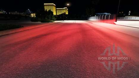 Rojo xenons para American Truck Simulator