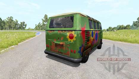 Volkswagen Transporter Bulli para BeamNG Drive