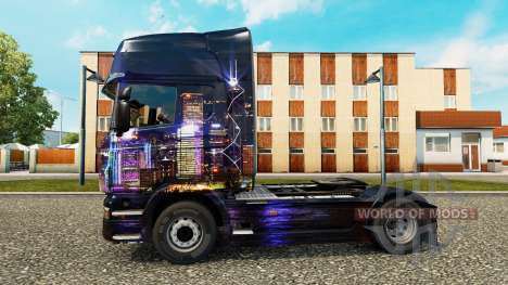 Skyline de la piel para Scania camión para Euro Truck Simulator 2