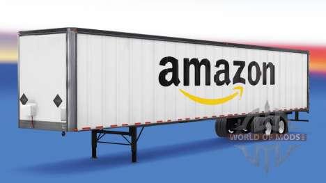 Todo el metal-semirremolque. para American Truck Simulator