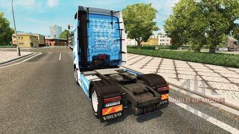 LB Diseño de la piel para camiones Volvo para Euro Truck Simulator 2