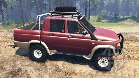 UAZ-2362 para Spin Tires