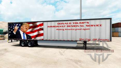 La piel de Triunfo en el remolque para American Truck Simulator