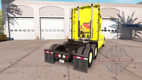 La piel Ama a Peterbilt y Kenworth tractores para American Truck Simulator