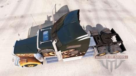 Kenworth W900 para American Truck Simulator