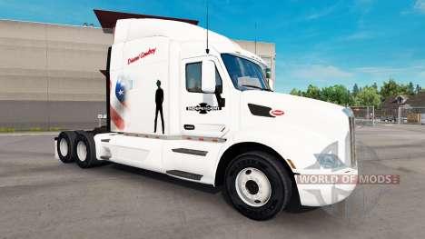 Diesel Vaquero de piel para el camión Peterbilt para American Truck Simulator