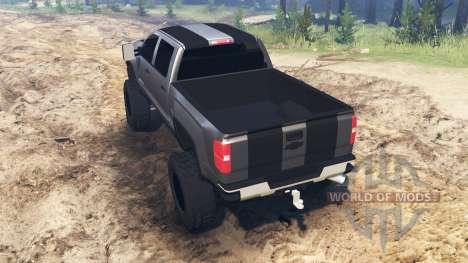 Chevrolet Silverado 3500 HD para Spin Tires