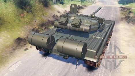 T-80A (Objeto 219A) para Spin Tires
