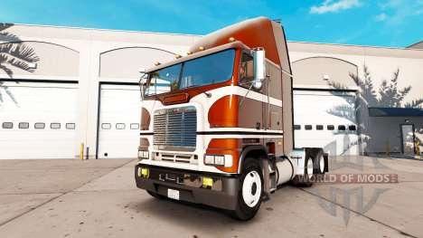 Piel Pura de la Vendimia de tractor Freightliner para American Truck Simulator