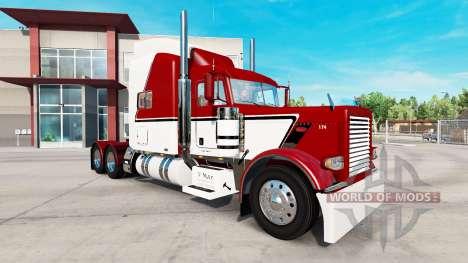 La piel de la V-Max para el camión Peterbilt 389 para American Truck Simulator