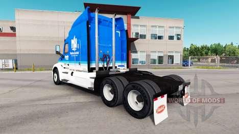 A nivel nacional la piel para el camión Peterbil para American Truck Simulator