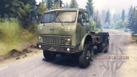 MAZ-504В para Spin Tires