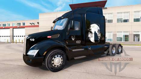 Lobo de la piel para el camión Peterbilt para American Truck Simulator