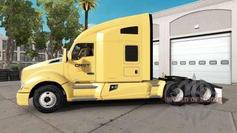 La piel CRST en camión Kenworth para American Truck Simulator