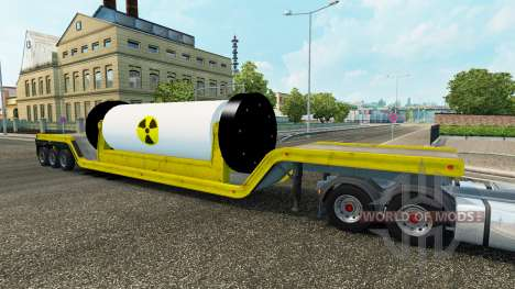 Fundamental con un reactor nuclear para Euro Truck Simulator 2