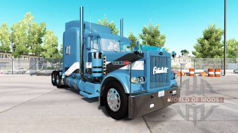 2Tone de la piel para el camión Peterbilt 389 para American Truck Simulator