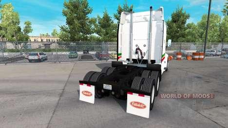 La piel Consildated Freightways para camión Pete para American Truck Simulator