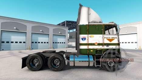 La piel POZZi para camión Freightliner FLB para American Truck Simulator