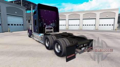 La piel de Estrella que Cae en el camión Kenwort para American Truck Simulator