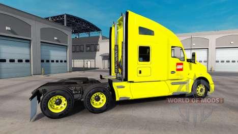 La piel de LEGO camión Kenworth para American Truck Simulator