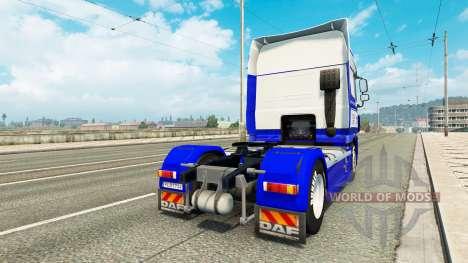 DastagirTrans skin for DAF truck para Euro Truck Simulator 2