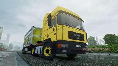 MAN F2000 v2.0 para Euro Truck Simulator 2