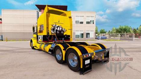 GATO de la piel para el camión Peterbilt 389 para American Truck Simulator