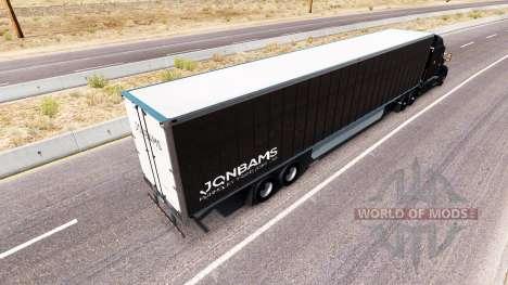 JonBams de la piel para el camión Peterbilt para American Truck Simulator