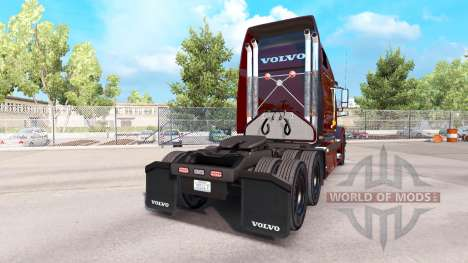 UPS piel para Volvo VNL 670 camión para American Truck Simulator