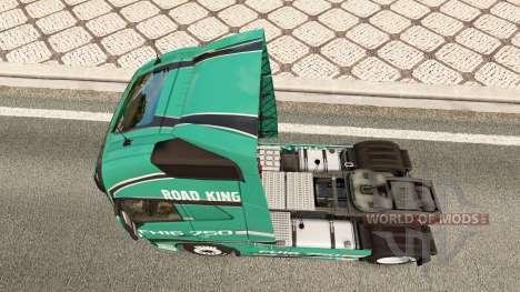 Road King de la piel para camiones Volvo para Euro Truck Simulator 2