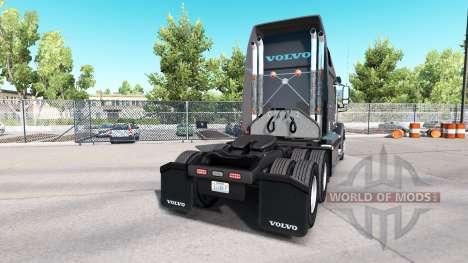 La piel de Caballero Refridgeration camión Volvo para American Truck Simulator