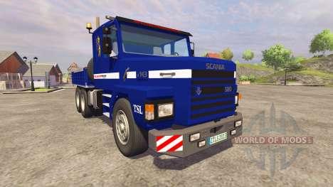 Scania 143h para Farming Simulator 2013