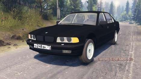 BMW 750Li (E38) para Spin Tires