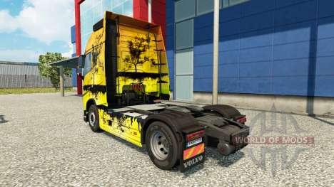 Árbol de la piel para camiones Volvo para Euro Truck Simulator 2
