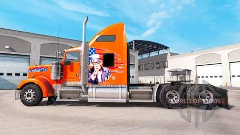La piel de América camión Kenworth W900 para American Truck Simulator