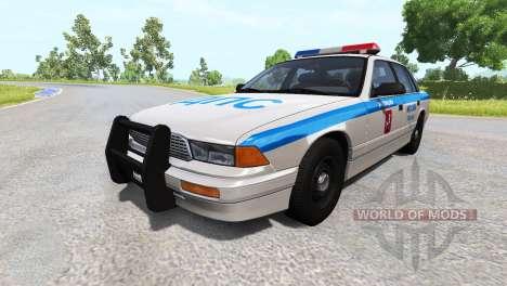 Gavril Gran mariscal de Moscú, la policía de trá para BeamNG Drive
