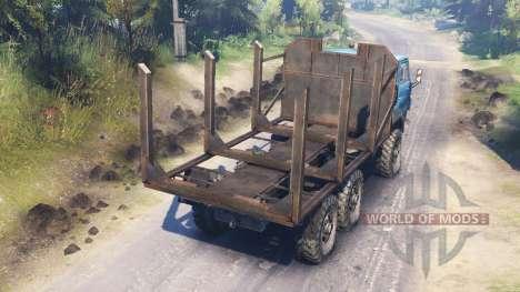 Ural-4322А v2.0 para Spin Tires