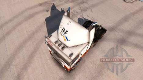 La piel de la USF en camión Freightliner FLB para American Truck Simulator