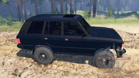 Range Rover Classic 1990 para Spin Tires