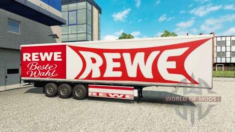 Rewe de la piel para el remolque para Euro Truck Simulator 2
