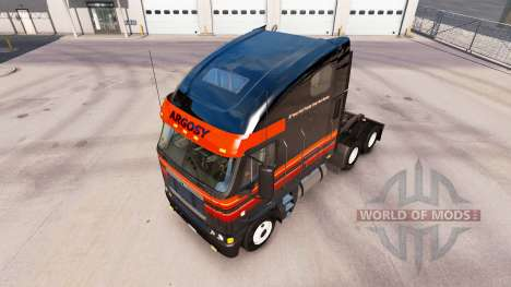 La piel en Outlaw camión Freightliner Argosy para American Truck Simulator