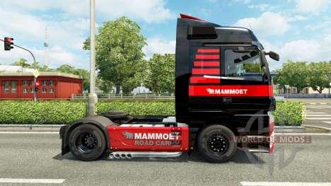Mammoet de la piel para el camión Mercedes-Benz para Euro Truck Simulator 2