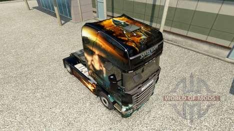 Starcraft 2 piel para Scania camión para Euro Truck Simulator 2